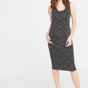 NWT Old Navy Maternity body con black dress